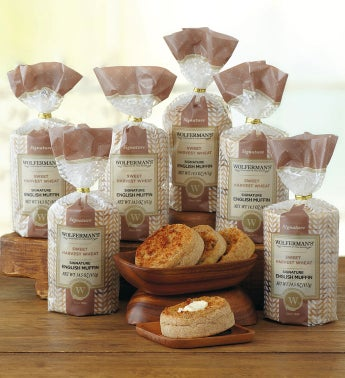 Sweet Harvest Wheat Super-Thick English Muffins - 6 Packages